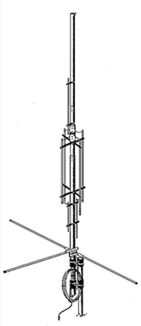 Antenne verticale HF GAP EAGLE.