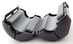 Étrier de ferrite (RF choke) pour RG8-X.
