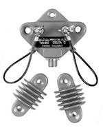 Isolateur central DELTA-C  et isolateurs d'extrémités DELTA-CIN