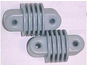 Isolateur d'extrémité d'antenne doublet - service intense