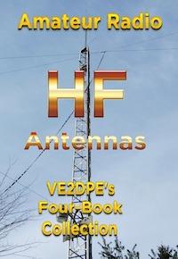 Livrel en anglais sur les antennes HF de radioamateur par VE2DPE