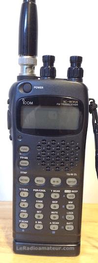 Portatif radioamateur VHF-UHF