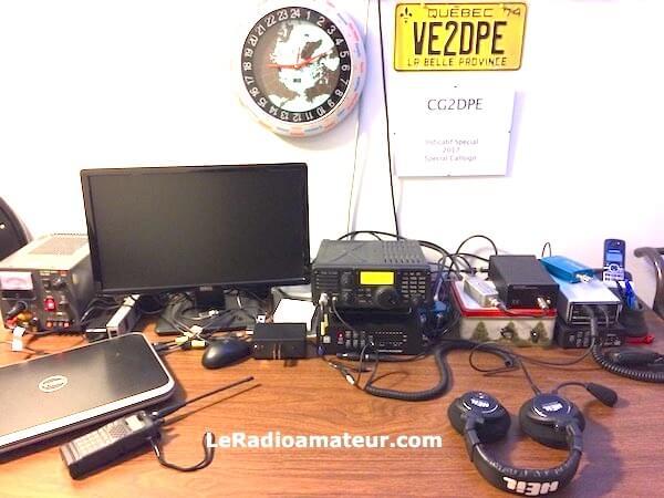 Ma station de radioamateur en 2018
