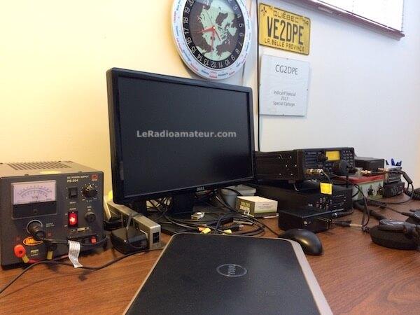 Équipements de la station radioamateur de VE2DPE