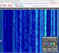 Interface pour utilisateur (IU) de site, utilisant la technologie OpenWebRX, pour écouter les radioamateurs via Internet.