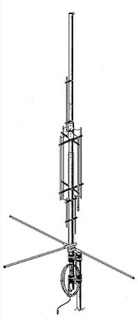 Antenne verticale HF GAP EAGLE.