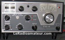 Mon émetteur-récepteur en 1974: un Drake TR-4