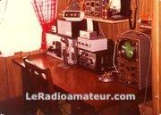 Ma première station radioamateur en 1974
